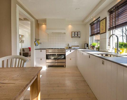 Wąskie i małe kuchnie