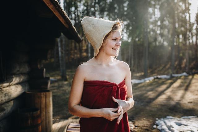 czapka do sauny