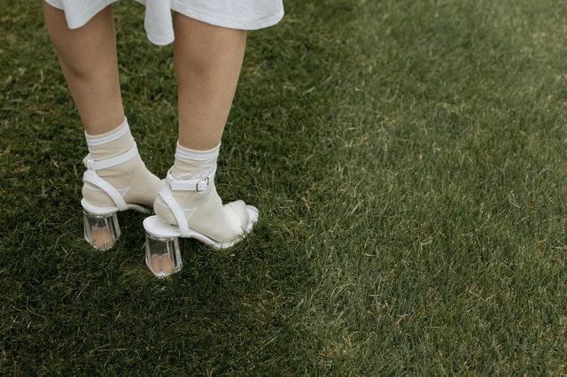 sandały i skarpetki