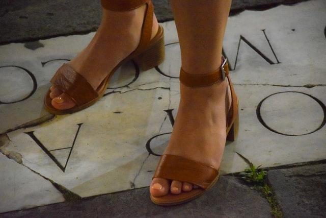 sandały damskie, sandały na obcasie, sandały obcas
