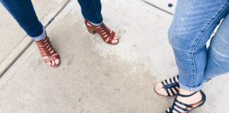 sandały damskie, sandały damskie skórzane, sandały płaska podeszwa